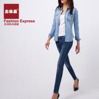 牛仔裤 古田森 > s1336-1     和在店里卖的一样,穿上超舒服的,弹性好图片
